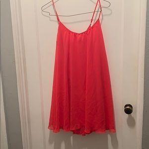 Express loose fitting mini dress